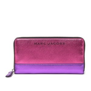 Marc Jacobs Metallic Wallet